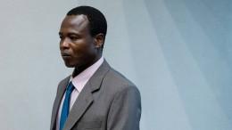 25 Jahre Haft für ugandischen Rebellenführer Ongwen
