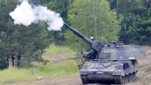 Deutsche Panzerhaubitzen für Litauen