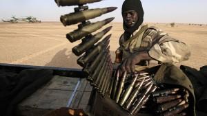 Gefechte am Flughafen von Timbuktu