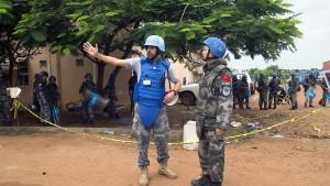 """Abzug deutscher Polizisten aus Südsudan """"ein ernsthafter Schlag"""""""