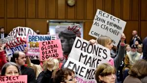 Tumulte bei Brennans Anhörung