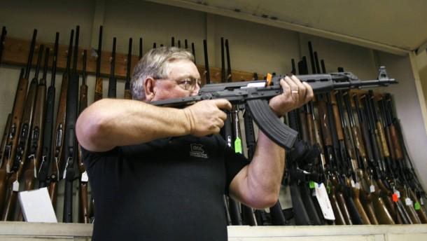 Widerstand gegen Obamas Verschärfung des Waffenrechts