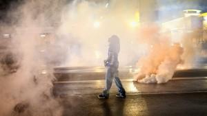 Proteste in amerikanischer Kleinstadt flammen wieder auf