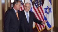Netanjahus Wahlkampf-Vehikel in Amerika?