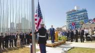 Vereinigte Staaten eröffnen Botschaft in Havanna