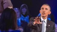 Präsident Obama ging auch auf die Bedenken einiger Bürger ein.