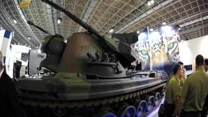 Brasilien kauft deutsche Luftabwehrpanzer