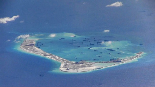 China verstärkt Marine