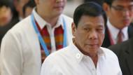Obama lässt Duterte nach Beleidigung abblitzen
