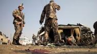 Anschlag auf britisches Botschaftsfahrzeug in Kabul