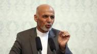 Pakistanisch-Afghanische Umarmung
