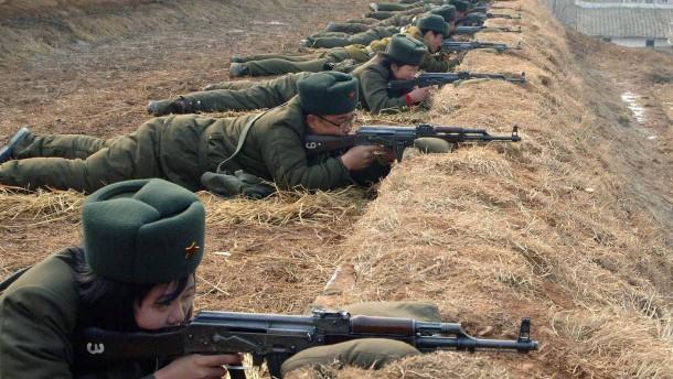 Südkorea warnt Nordkorea