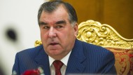 Tadschikistans Präsident Emomali Rachmon amtiert seit 1992