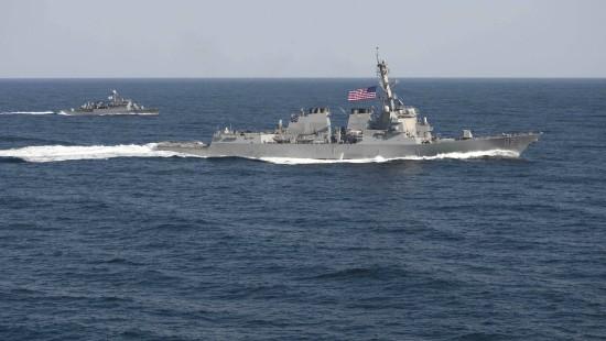 Amerikaner lassen im Insel-Streit mit China Muskeln spielen