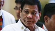 Rodrigo Duterte, Präsident der Philippinen, verärgert mit seinen Äußerungen seinen wichtigsten Verbündeten.