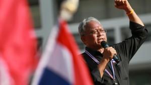 Haftbefehl gegen Anführer der Proteste