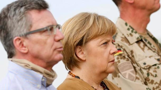Merkel zollt Gefallenen Respekt