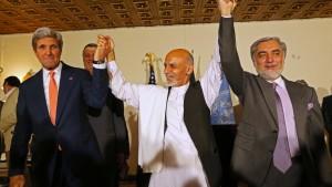 Afghanistan soll Einheitsregierung erhalten