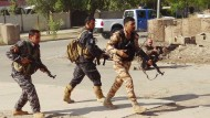 Kurdische Kämpfer in Kirkuk