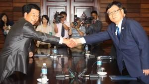 Nord- und Südkorea im Prinzip einig