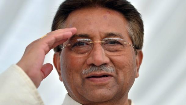 Polizei nimmt Musharraf fest