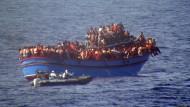 Bis zu 400 Menschen ertrunken