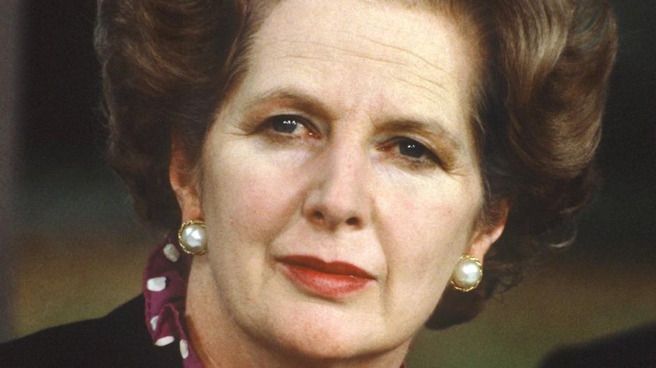 Deutschlandbesuch: Margaret Thatcher im Oktober 1982 in Bonn
