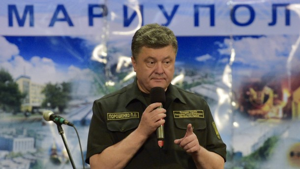 """Poroschenko: """"Wir werden nichts abtreten"""""""