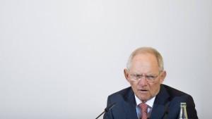 Der Zorn des Schäuble