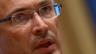 Chodorkowski strebt kein politisches Mandat an
