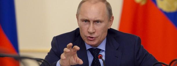 Russlands Präsident Wladimir Putin propagiert den Antiamerikanismus