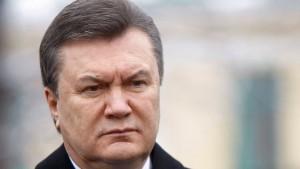 Präsident Janukowitsch im Krankenhaus