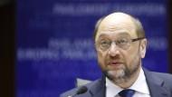Will nach Athen fahren: EU-Parlamentspräsident Martin Schulz.