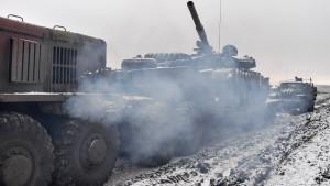 Rebellen greifen Hauptquartier der ukrainischen Armee an