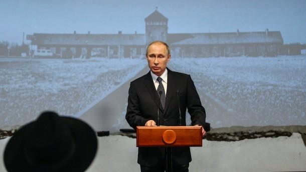 Russian President Vladimir Putin atInternational Holocaust Rememb