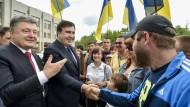 Kampf gegen den Paten von Dnipropetrowsk