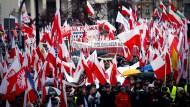 In Polen stammt die Gefahr für die Demokratie von den Nationalisten.