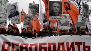 Der Angeklagte Chodorkowskij und der Zeuge Putin