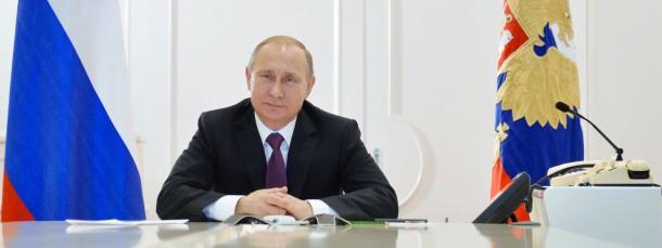 Möchte nicht alleine sein: Russlands Präsident Wladimir Putin.