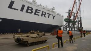 Amerika liefert Panzer an baltische Staaten