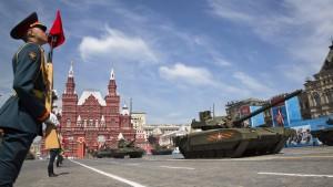 Im Rausch der russischen Raketen