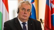 Tschechiens Präsident sperrt amerikanischen Botschafter aus