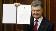 Ukraine und EU verabschieden Assoziierungsabkommen