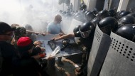 Ein Toter bei Explosion in Kiew