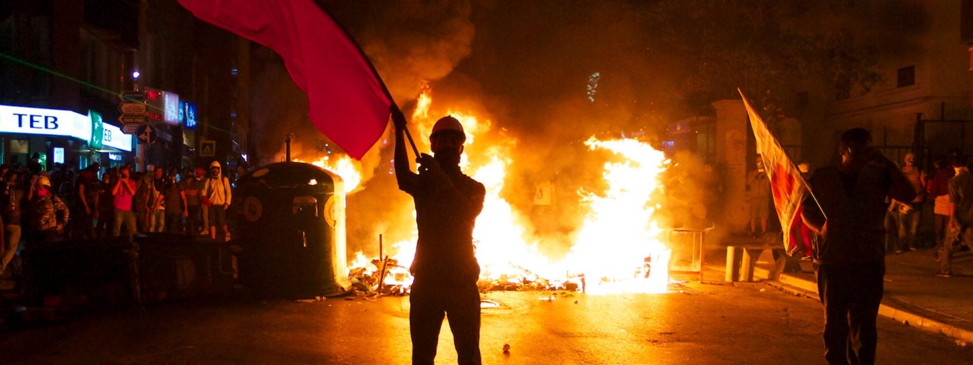 Wieder Gewalt in der Türkei