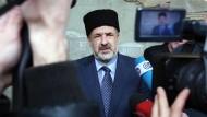 Schwierige Gratwanderung: Refat Tschubarow, der politische Führer der Krimtataren, muss die Interessen seines Volkes vertreten und gleichzeitig Eskalationen verhindern.