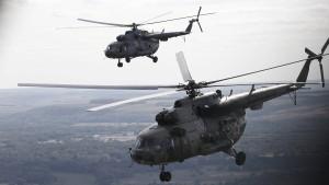 Russland stationiert Armeehubschrauber unweit der Türkei