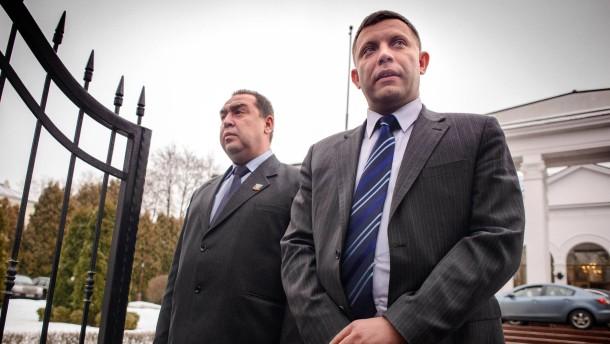 Die Frontmänner der Separatisten