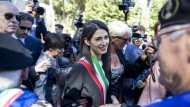 Virginia Raggi, Bürgermeisterin von Rom, wollte die Stadt ändern, entpuppt sich aber als dazu unfähig.