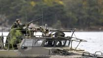 Das schwedische Militär hat in der vergangenen Woche einen Eindringling gesucht